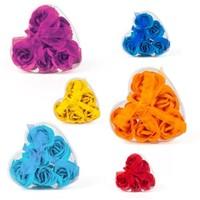BuldumBuldum Kalp Kutusunda Rengarenk Sabun Güller