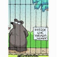 BuldumBuldum Selçuk Erdem 'Kafese Yaklaşın' Yapboz