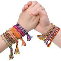 BuldumBuldum Bileklik Yapım Kitleri - İpli - Friendship Bracelets(Neon)