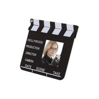 BuldumBuldum Clip Board Photo Frame - Klaket Çerçeve - Cam Büyük Boy - 25X23Cm