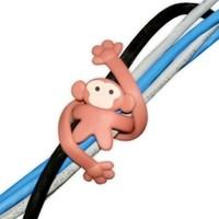 BuldumBuldum Fun Cable Ties - Kablo Düzenleyici Hayvancıklar - Maymun