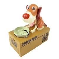 BuldumBuldum Choken Bako - Para Yiyen Köpek Kumbara - Kahverengi
