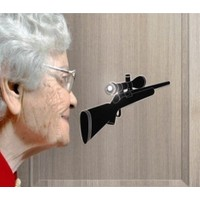 BuldumBuldum Eye Spy - Casus Kapı Çıkartması - Teleskop