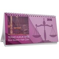 BuldumBuldum Hukuk Ofisi Masa Takvimi - Pembe