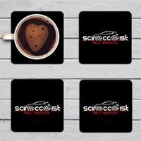 BuldumBuldum Scirocco - İstanbul - 4Lü Bardak Altlıkları Seti