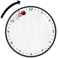 BuldumBuldum Contemporary Ball Clock- Modern Manyetik Saat
