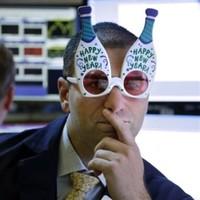 BuldumBuldum Happy New Year Şampanya Şişesi Gözlük