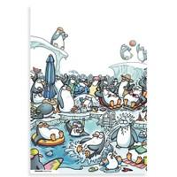 BuldumBuldum Penguen Poster – Penguenler Tatilde - 220 Gr Poster