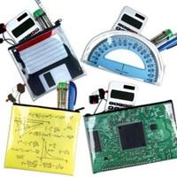 BuldumBuldum Geek Pockets - İneklere Özel Kalem Kutuları - Gönye