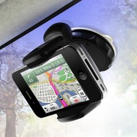 BuldumBuldum Windshield Mount Phone Holder - 360 Derece Telefon Tutucu