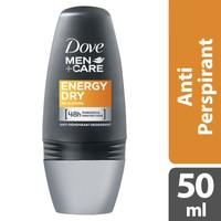 Dove Men Deodorant Roll-On Energy Dry 50 Ml