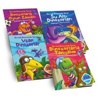 Dinozarlar Çıkarma Ve Aktivite Seti (4 Kitap Takım)