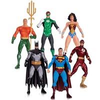DC Collectibles Alex Ross Justice League 6'lı Paket Action Figure Seti