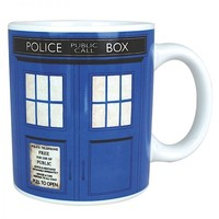 Half Moon Bay Doctor Who Tardis Kupa Bardak