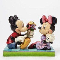 Enesco Disney Traditions Mickey & Minnie Diorama Picked This Just For You