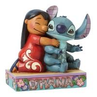 Enesco Disney Traditions Ohana Means Family (Lilo & Stitch)