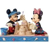 Enesco Disney Traditions Seaside Sweethearts (Mickey & Minnie Mouse)
