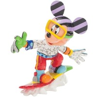 Enesco Disney Traditions Snowboarding Mickey