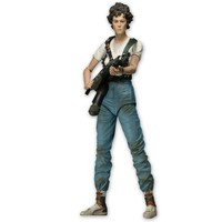 "NECA Aliens 7"" Action Figure Series 5 Lt. Ellen Ripley With Flame Thrower"