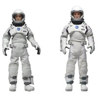 "NECA Interstellar 8"" Clothed Action Figure 2'li Paket"