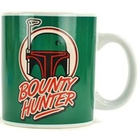 Half Moon Bay Star Wars Bounty Hunter Boba Fett Kupa Bardak