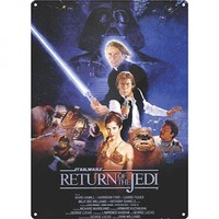 Half Moon Bay Star Wars Return Of The Jedi Duvar Levhası