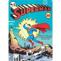 Half Moon Bay Superman Zap Duvar Levhası