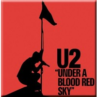 Half Moon Bay U2 Under a Blood Red Sky Buzdolabı Magneti