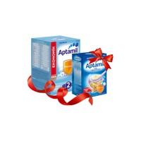 Milupa Aptamil 2 Devam Sütü 1200 Gr ve Aptamil Sütlü Bisküvili 500 gr