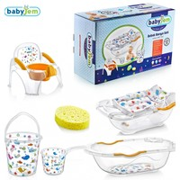Babyjem Lüks Bebek 6 Parça Banyo Seti Beyaz