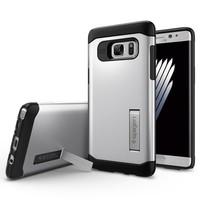 Spigen Samsung Galaxy Note 7 / FE (Fan Edition) Kılıf Slim Armor Satin Silver
