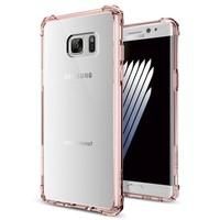 Spigen Samsung Galaxy Note 7 / FE (Fan Edition) Kılıf Crystal Shell Rose Clear