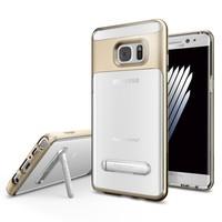 Spigen Samsung Galaxy Note 7 / FE (Fan Edition) Kılıf Crystal Hybrid Champagne Gold