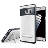 Spigen Samsung Galaxy Note 7 / FE (Fan Edition) Kılıf Crystal Hybrid Metal Slate