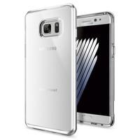 Spigen Samsung Galaxy Note 7 / FE (Fan Edition) Kılıf Neo Hybrid Crystal Satin Silver
