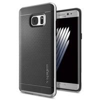Spigen Samsung Galaxy Note 7 / FE (Fan Edition) Kılıf Neo Hybrid Satin Silver