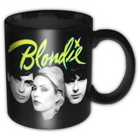 Rock Off Blondie Eat to the Beat Logo Kupa Bardak