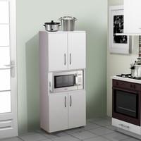 Mutfak Dolabı Mikrodalga Dolabı