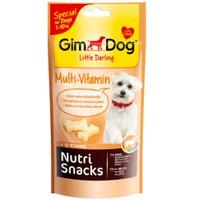 Gimdog Little Darling Nutri Snacks Multivitaminli Köpek Ödülü 40 Gr