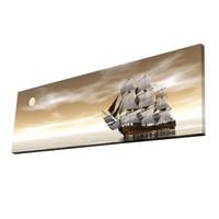 Mania Yelkenli 30x90 cm Dekoratif Kanvas Tablo 66