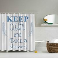 Orange Venue 3D Baskılı Duş Perdesi Keep