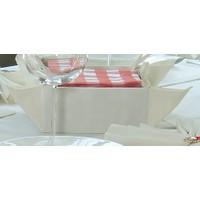 Romans Class+Plaın Krem Ekmeklik 31x31 cm