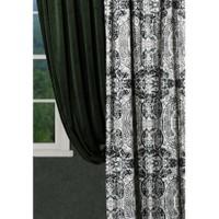 Merlina Home 25175 Siyah Beyaz Perde 140x270 cm
