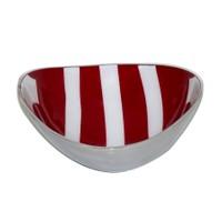 I Love Home Oval Gondol Küçük Kırmızı Beyaz