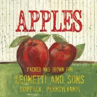 Fotocron Dekoratif Tablo Apples
