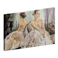 Albitablo Balerin Kız Kanvas Tablo 70x50 cm Yatay