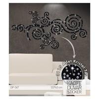 Artikel Luna Kadife Duvar Sticker 3115 Adet Kristal Taş DP 347