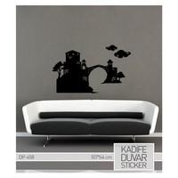 Artikel Mostar Köprüsü Kadife Duvar Sticker 64x107 cm DP 458