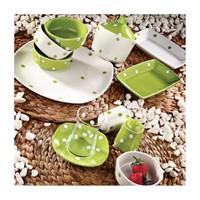 Laviva Punto 28 Parça Kahvaltı Seti Yeşil