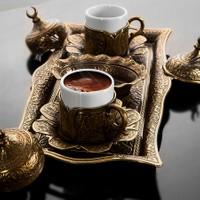 Sena Lalezar Kahve Takımı İki Kişilik H 06